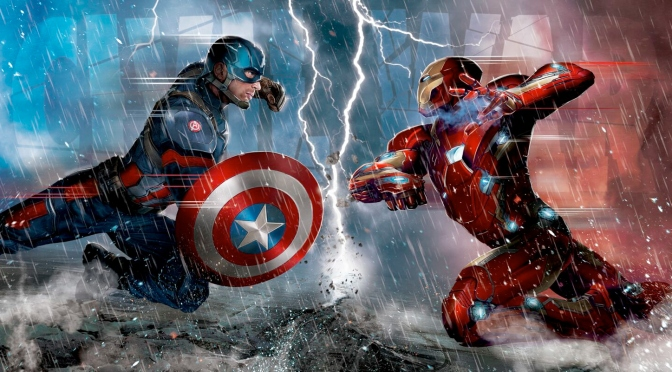 Captain America: League War