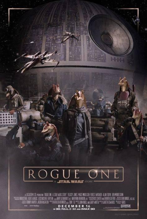 Questo poster (finto) è più elegante di svariate apparizioni che si vedono nel film.